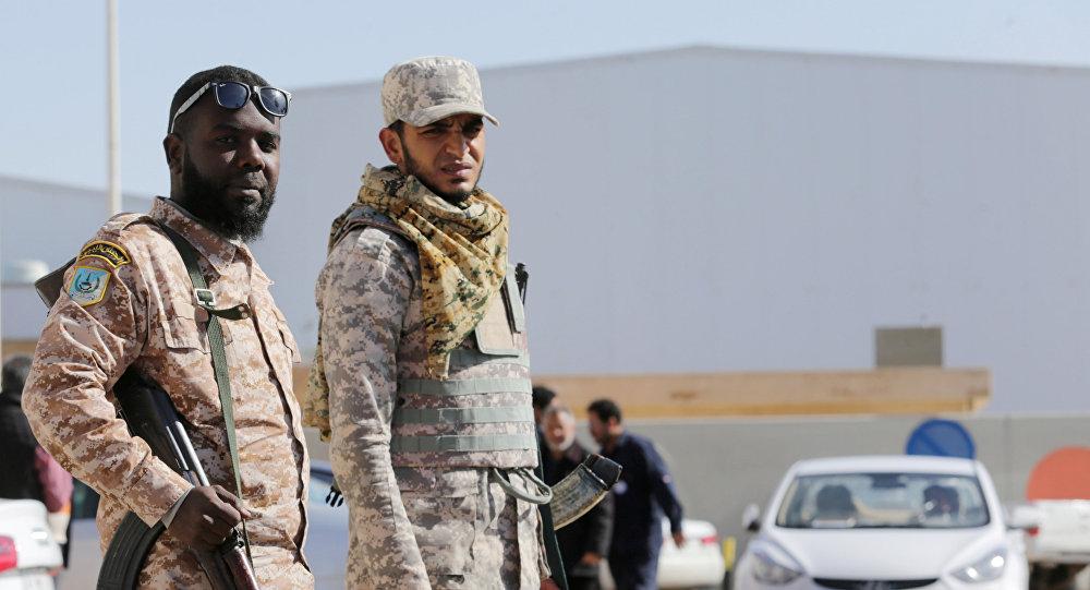 Los policías de Libia (Archivo)