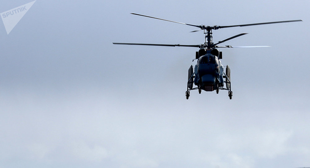 Un helicóptero Kamov, imagen referencial