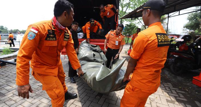 El siniestro del avión de Lion Air en Indonesia
