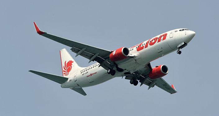 Boeing 737 Max 8 de Lion Air (archivo)