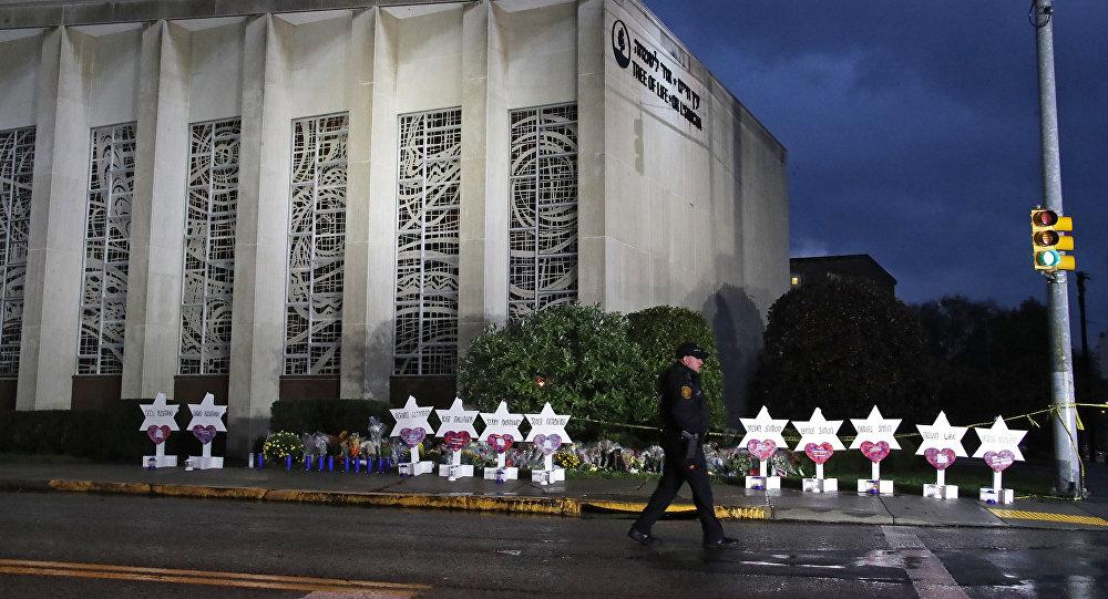Sinagoga Tree of Life en Pittsburgh tras un tiroteo