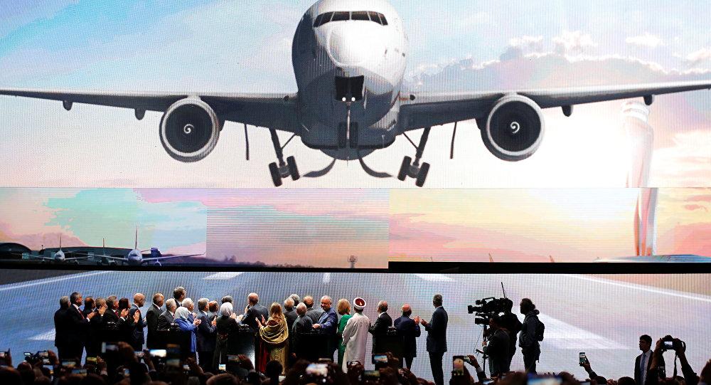 La ceremonia de inauguración del nuevo aeropuerto en Estambul