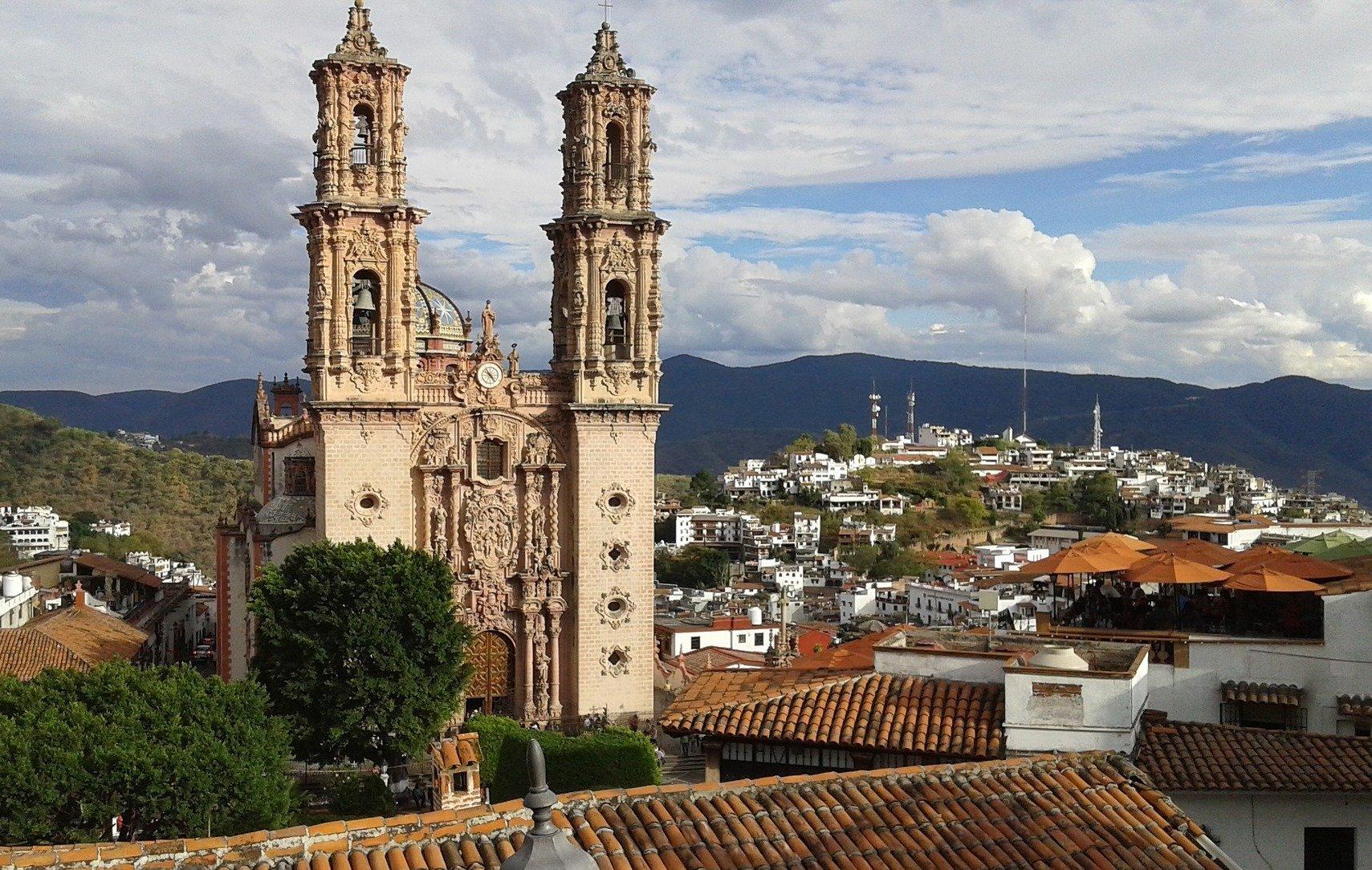 El Templo de Santa Prisca, Taxco, México