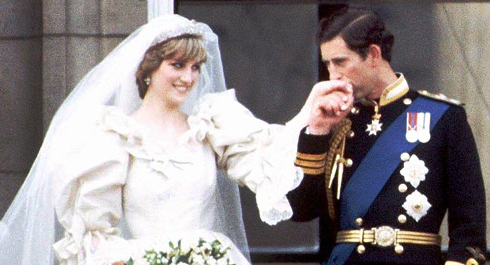 La boda del príncipe Carlos y princesa Diana