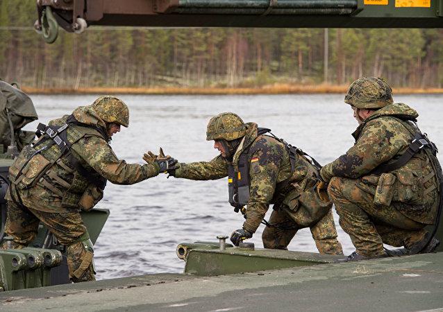 Maniobras militares de la OTAN Trident Juncture