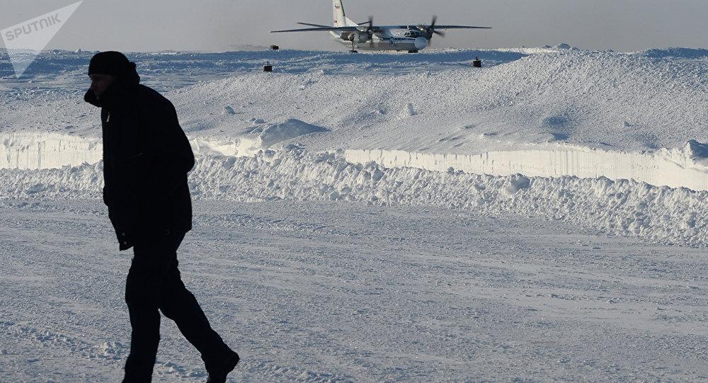 Un aeródromo ruso en el Ártico