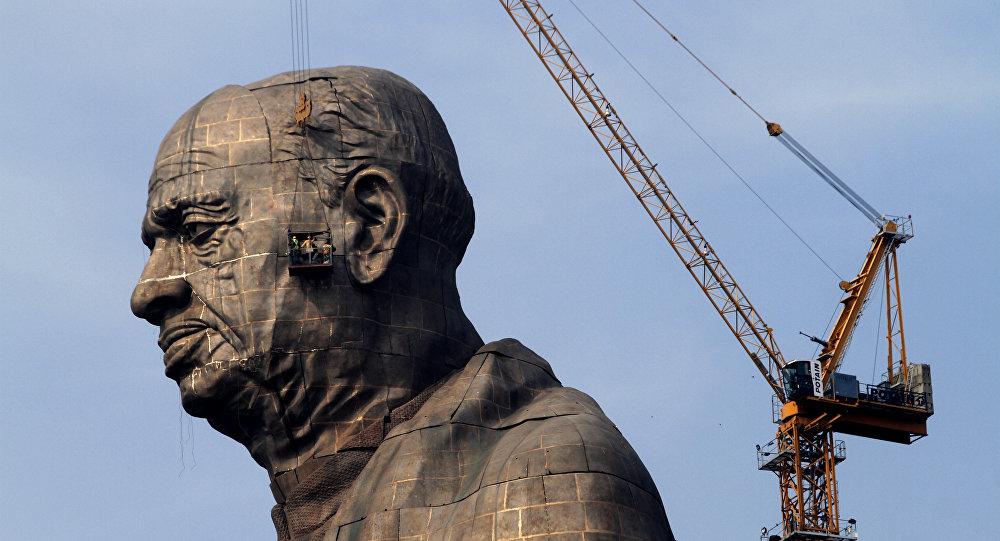 India inaugura estatua de 182 metros, considerada la más alta del mundo