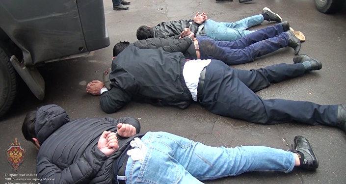 Publican el vídeo de la detención de 18 terroristas del ISIS en Rusia