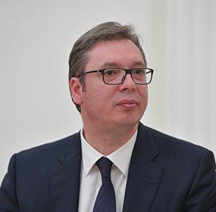 Alexandar Vucic, presidente serbio