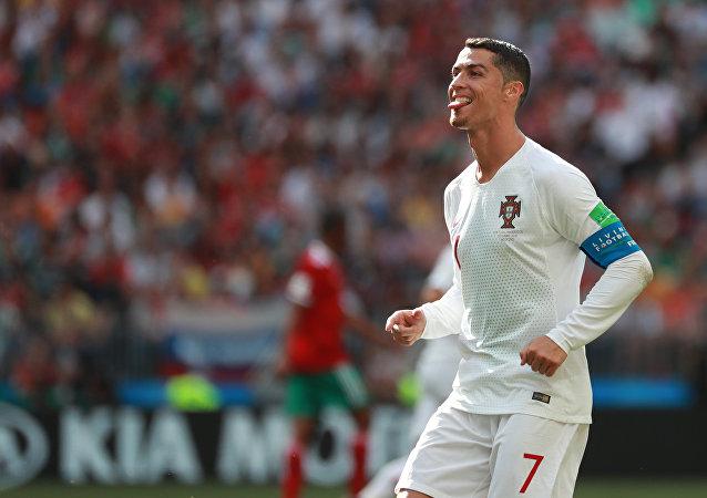 Cristiano Ronaldo en el Mundial de Rusia 2018