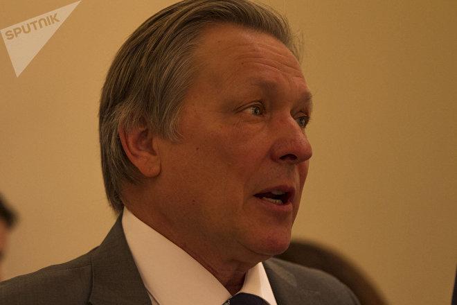 Víktor Koronelli, embajador de la Federación de Rusia en México