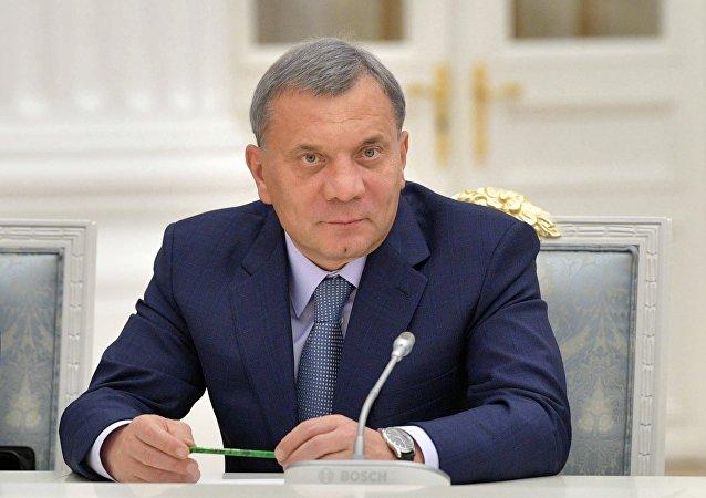 Yuri Borísov, vice primer ministro ruso