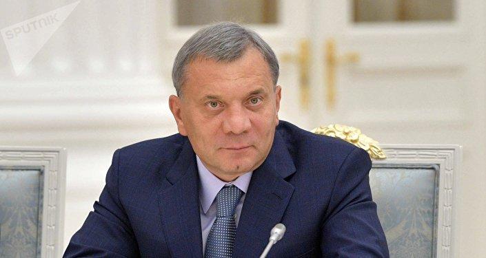 Yuri Borísov, viceprimer ministro ruso