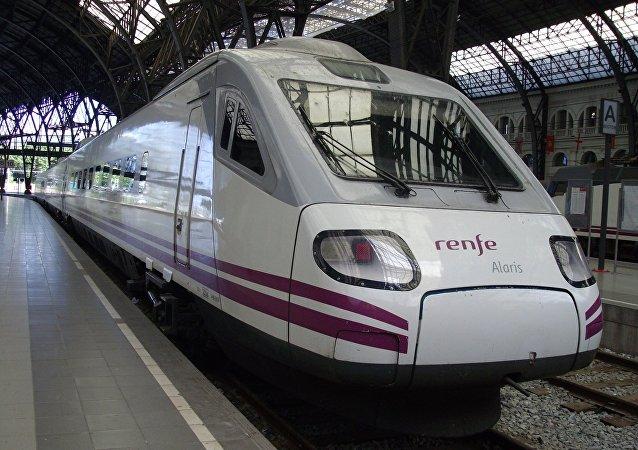Tren de Renfe (archivo)
