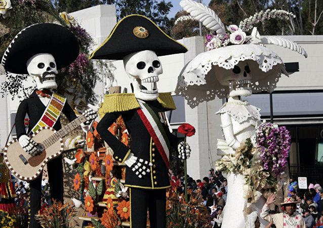 Festividades de Día de Muertos
