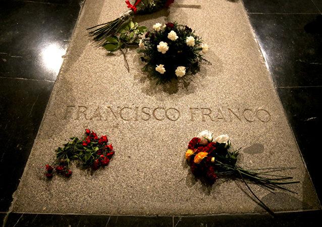 Tumba del dictador español, Francisco Franco (archivo)
