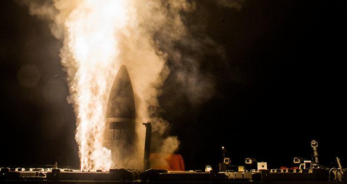 Lanzamiento del Standard Missile-3 Block IIA (archivo)