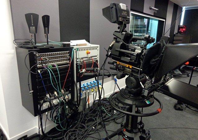 Estudio de televisión (imagen ilustrativa)