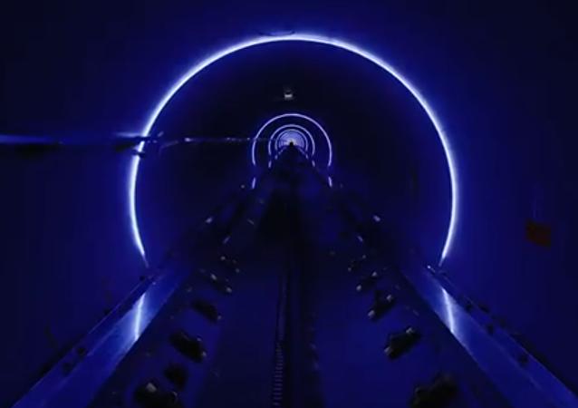 La tubería de Hyperloop (archivo)