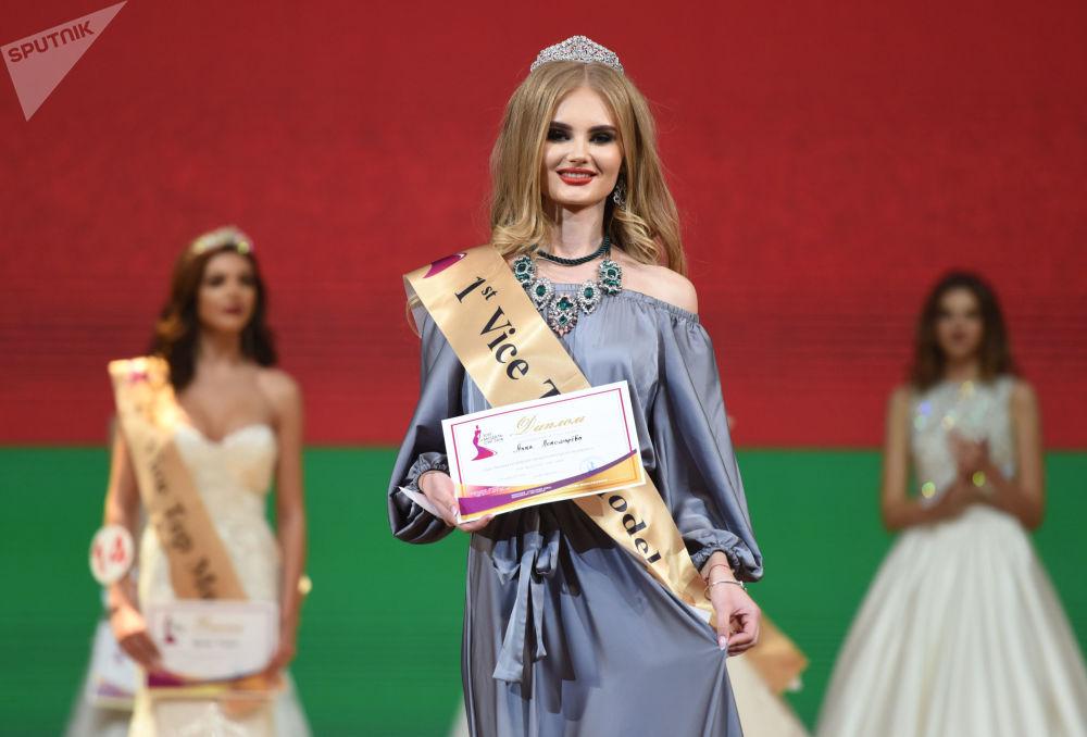 Los momentos más deslumbrantes del concurso de belleza 'Top model CEI 2018'