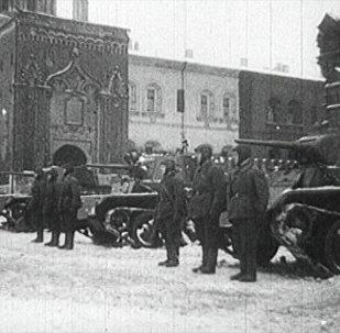 Así fue el desfile de 1941 que celebró la URSS en plena Gran Guerra Patria