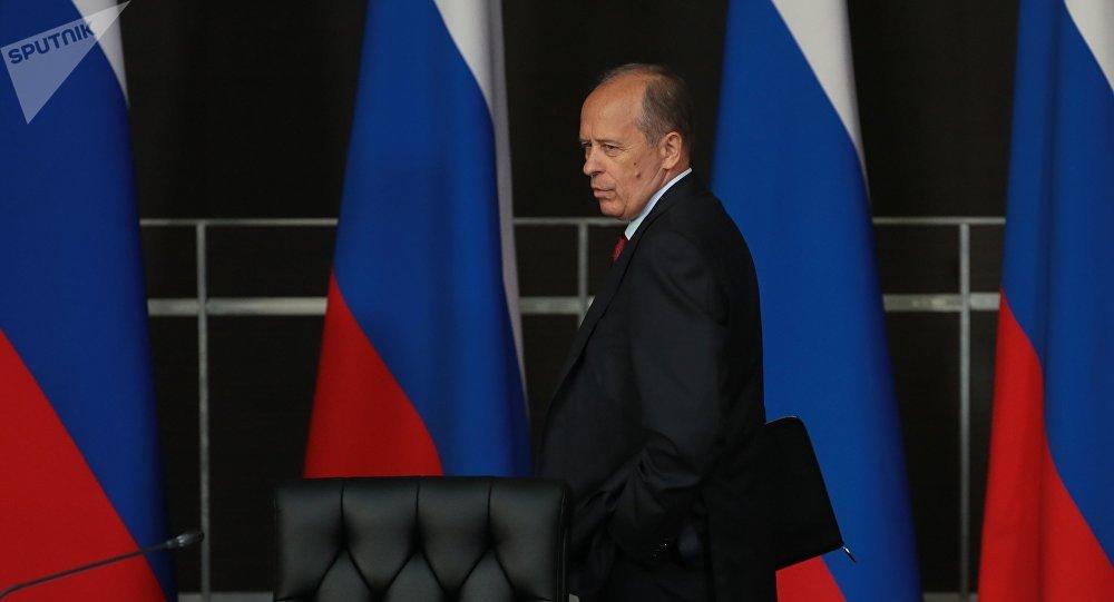 Alexandr Bórtnikov, director del FSB ruso