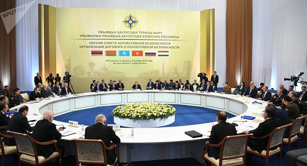 Cumbre de los países miembros de la Organización del Tratado de Seguridad Colectiva (OTSC) (archivo)