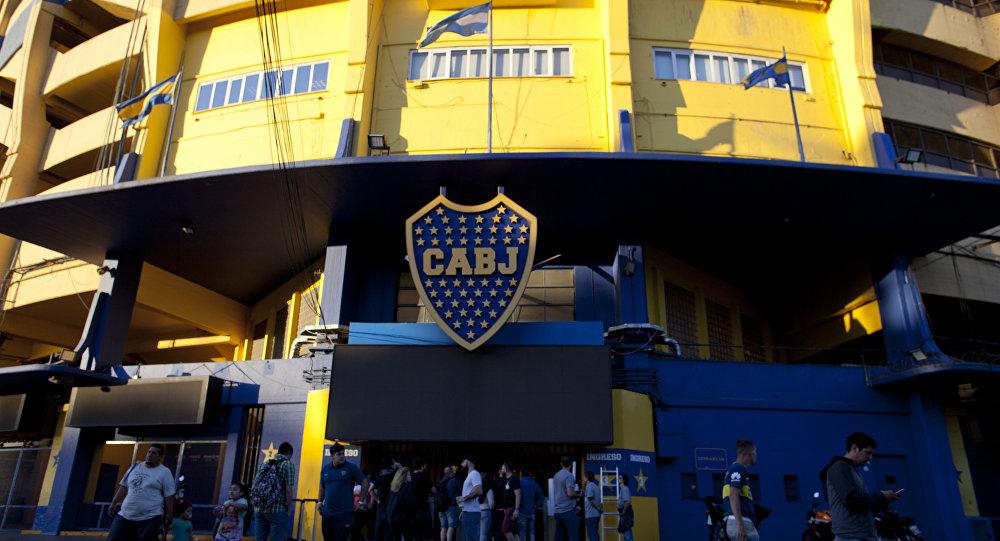 La Bombonera, el estadio del Club Atlético Boca Juniors