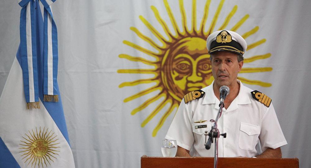 ARA San Juan: Trasladan a Estados Unidos al vocero de la Armada