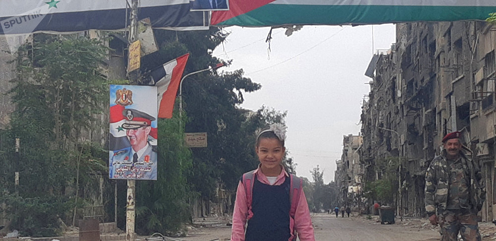 La reconstrucción del barrio Yarmuk en Damasco