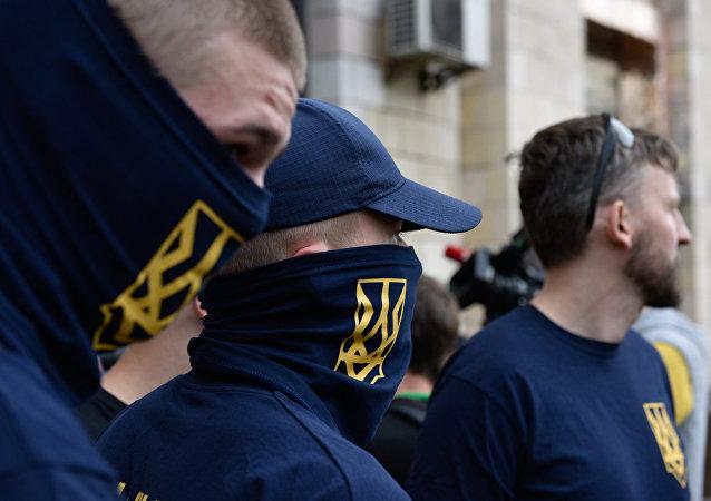 Nacionalistas ucranianos (archivo)