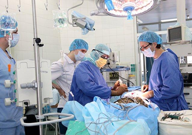 Una operación en el Centro Ilizárov