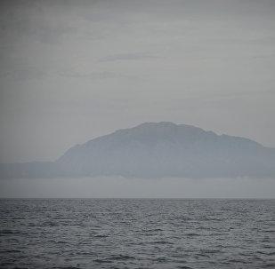 El estrecho de Gibraltar en el Mar de Alborán