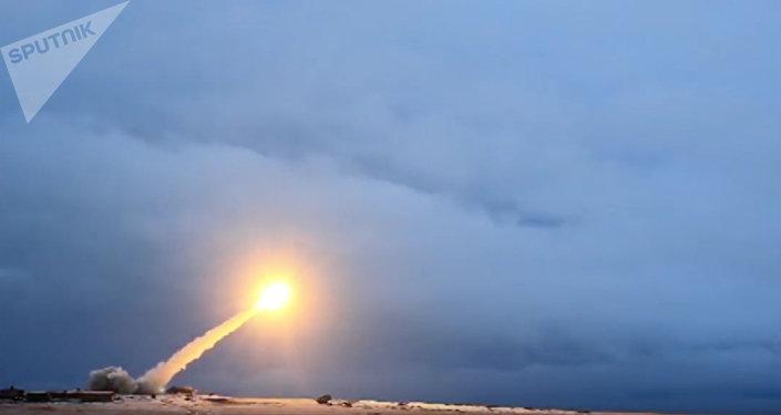La prueba del misil de crucero Burevestnik