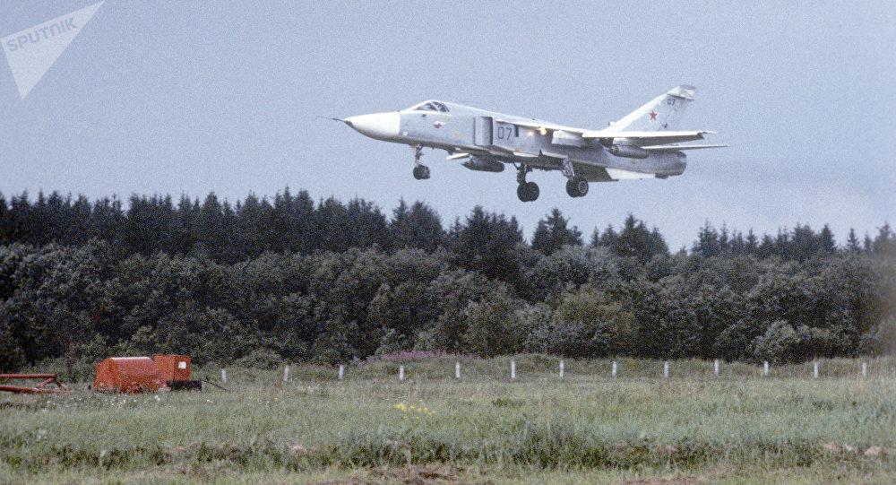 Un Su-24M en 1993