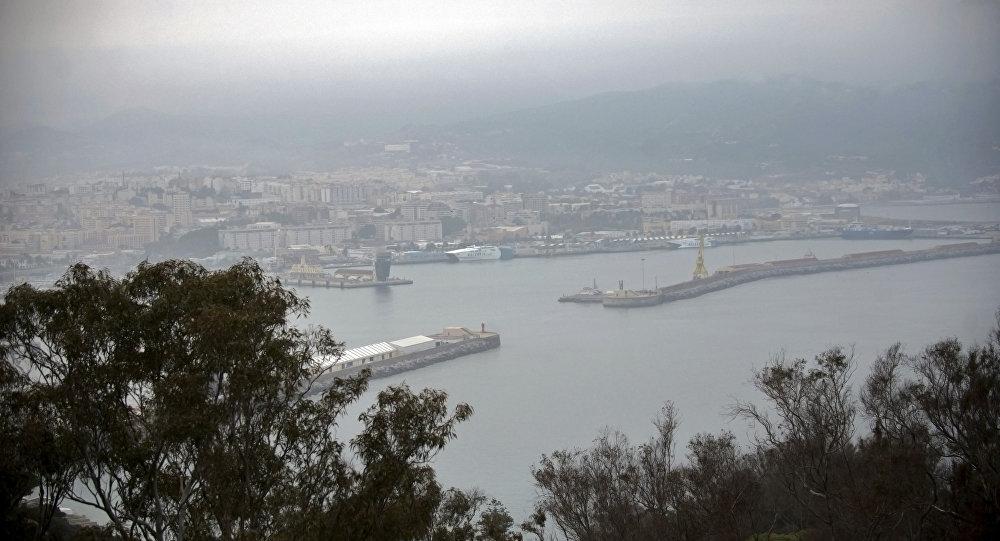 El puerto español de Ceuta