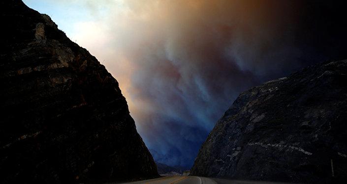 El incendio más devastador ha sido bautizado como Woolsey Fire, por la localidad a la que ha golpeado.