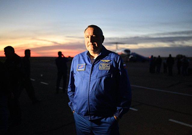 Dmitri Rogozin, jefe de Roscosmos