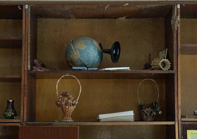 Un globo roto (imagen referencial)