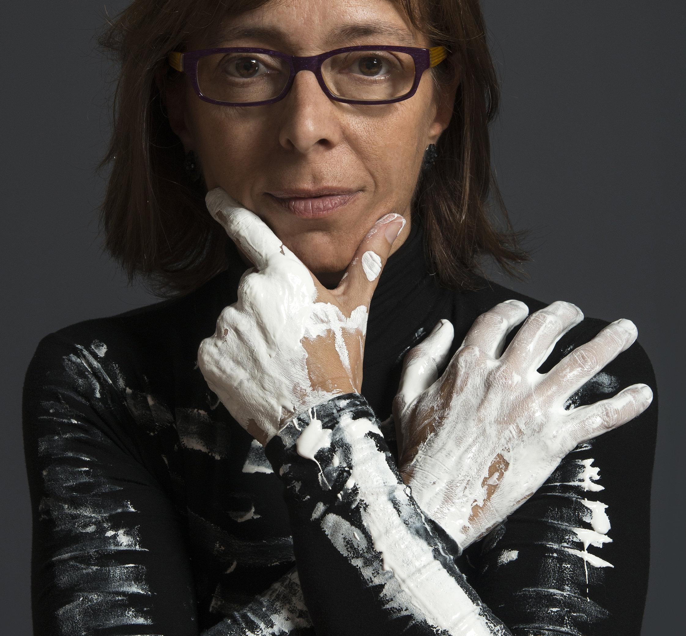 La artista catalana Gina Pórtera