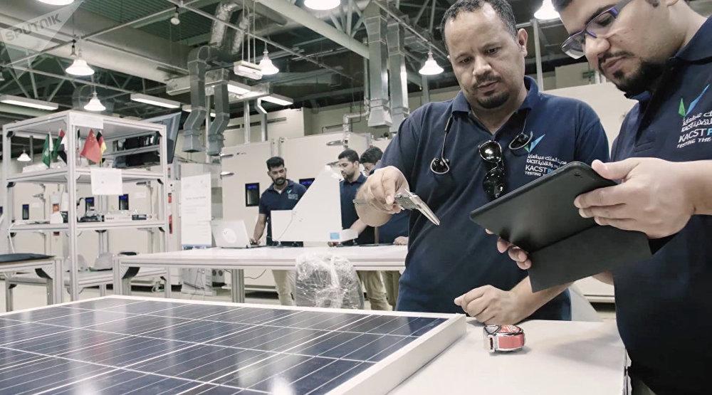Desarrollo de energía renovable en Arabia Saudí