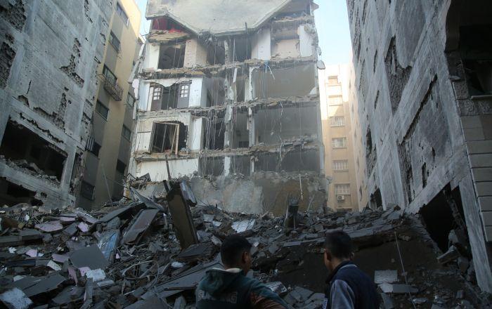 Consecuencias de los ataques de Israel en la Franja de Gaza