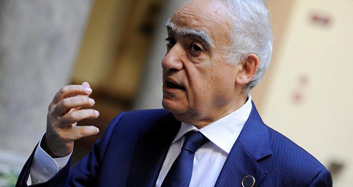 Ghassan Salamé, el enviado especial de la ONU para Libia