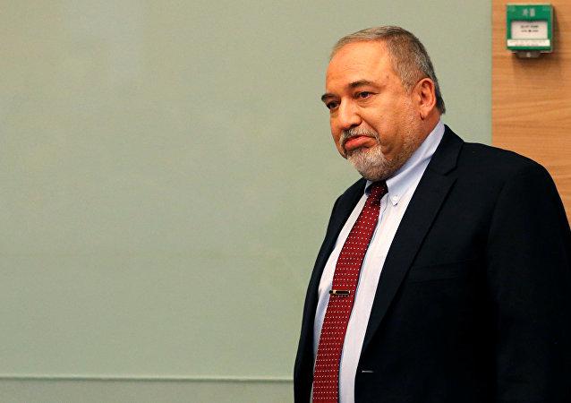 Avigdor Lieberman, ministro de Defensa israelí