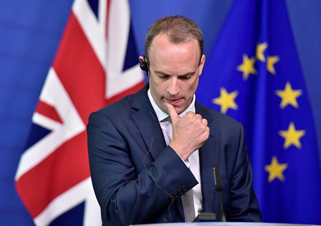 Dominic Raab, ministro para el Brexit