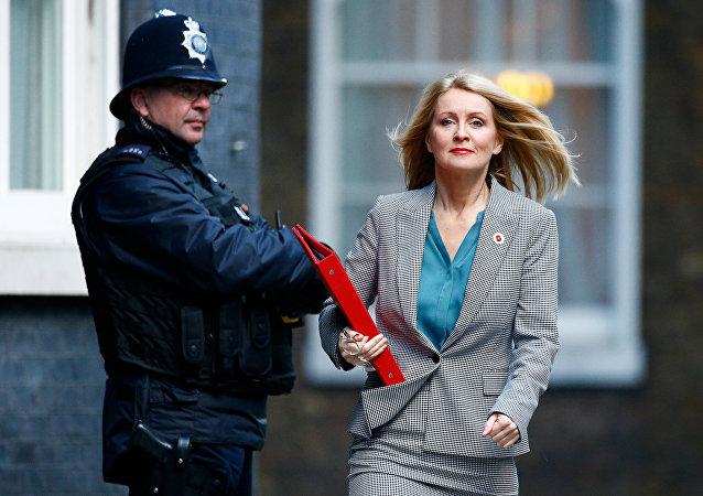 Esther McVey, la ministra británica de Trabajo y Pensiones