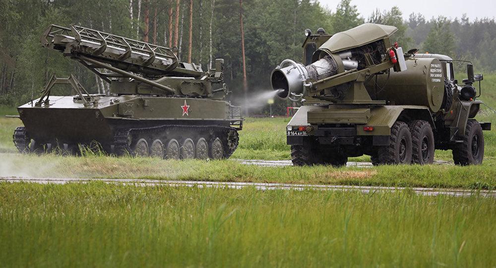 Sistema TMS-65U, foto archivo