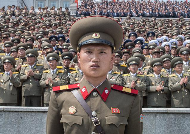 Un militar nortecoreano