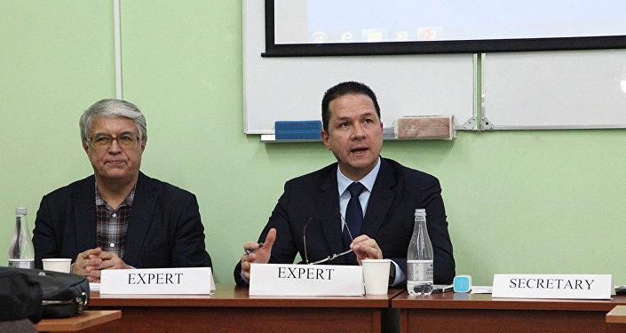 El embajador de Venezuela en Rusia, Carlos Faría Tortosa