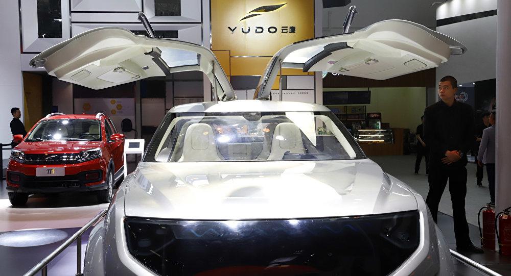 Un coche eléctrico chino de la empresa emergente YUDO